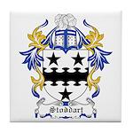 Stoddart Coat of Arms Tile Coaster