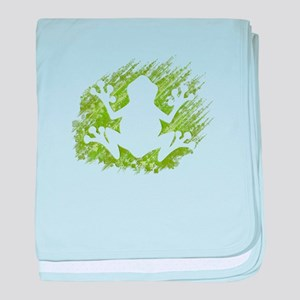Tree Frog baby blanket