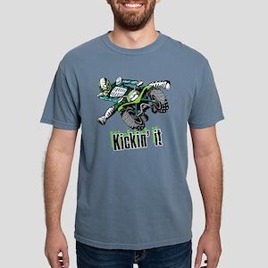 atv Quad kick Mens Comfort Colors Shirt