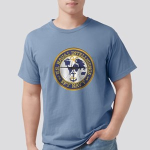 Spy Navy Patch Mens Comfort Colors Shirt