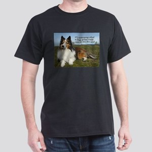 Big Green Field Dark T-Shirt