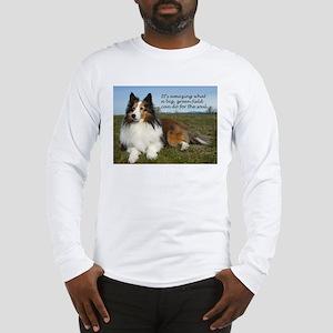 Big Green Field Long Sleeve T-Shirt