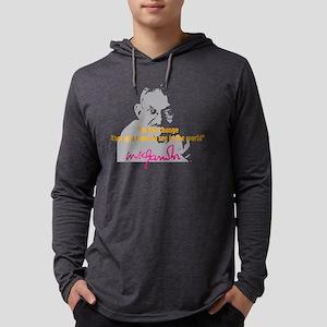 gandhiA2 Mens Hooded Shirt