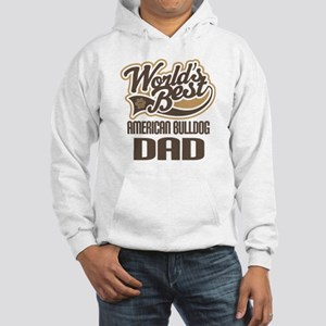 American Bulldog Dad Hooded Sweatshirt