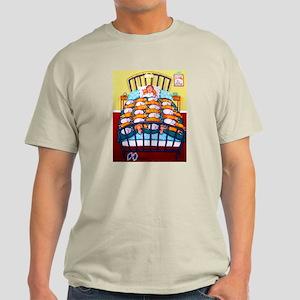 Cat Quilt Light T-Shirt