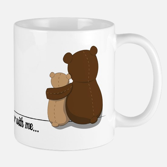 Bear with Me Design Mug
