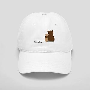 Bear with Me Design Cap