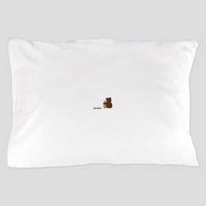 Bear with Me Design Pillow Case