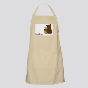 Bear with Me Design Apron