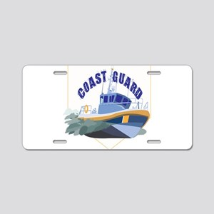 Coastie Wife Cutter Aluminum License Plate