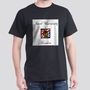 Jihad University London Black T-Shirt