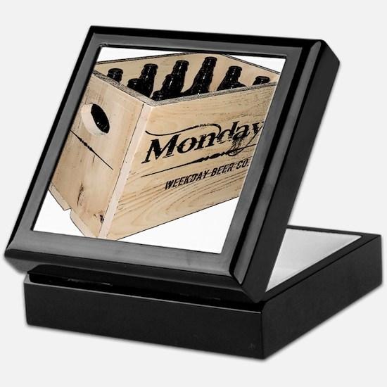Case of the Mondays Cartoon Edition Keepsake Box