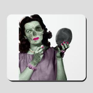 Pin Up Zombie Girl Mousepad