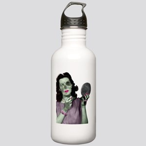 Pin Up Zombie Girl Stainless Water Bottle 1.0L