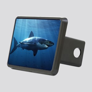 Great White Shark Rectangular Hitch Cover