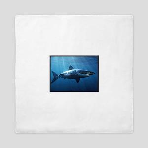 Great White Shark Queen Duvet