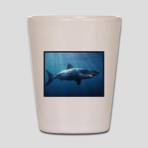 Great White Shark Shot Glass