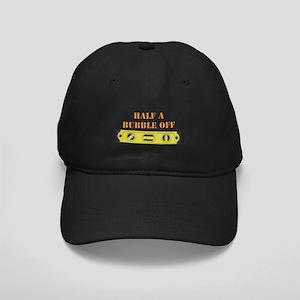 Half A Bubble Off Black Cap