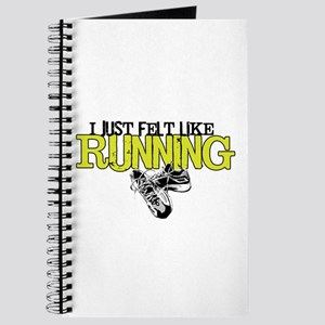 Felt Like Running Journal