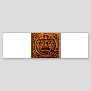 Aztec Calendar Dec 21 2012 Sticker (Bumper)