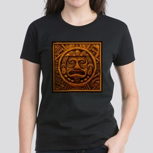 Aztec Calendar Dec 21 2012 Women's Dark T-Shirt