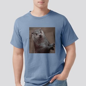 Sweet young Otter Mens Comfort Colors Shirt