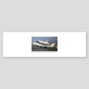 Flying Tandem Sticker (Bumper)