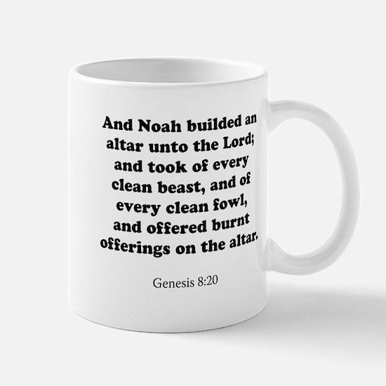 Genesis 8:20 Mug