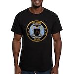 USS BOWEN Men's Fitted T-Shirt (dark)