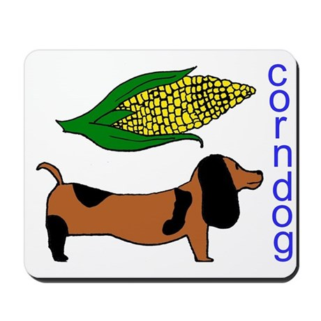 Corn Dog Mousepad