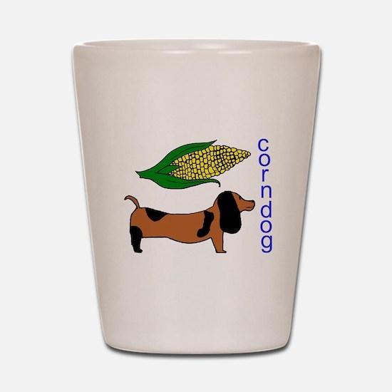 Corn Dog Shot Glass