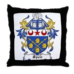 Speir Coat of Arms Throw Pillow