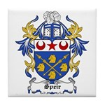 Speir Coat of Arms Tile Coaster