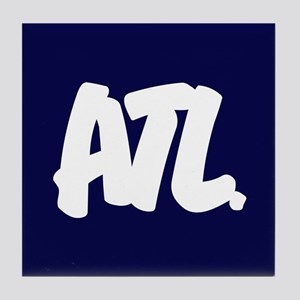 ATL Brushed Tile Coaster