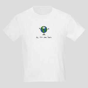 Hi, I'm new here Kids Light T-Shirt