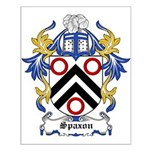 Spaxon Coat of Arms Small Poster