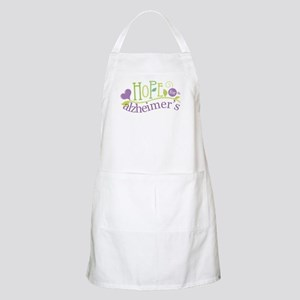 Hope For Alzheimer's Disease Apron