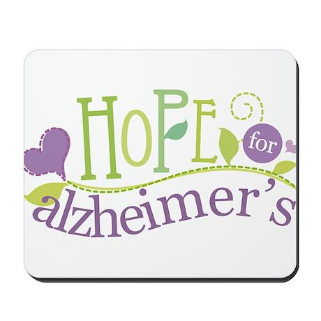 Hope For Alzheimer's Disease Mousepad