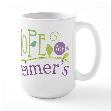 Hope For Alzheimer's Disease Large Mug