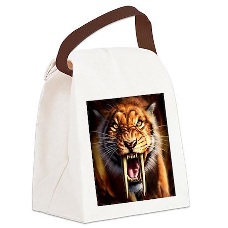 Sabertooth 1 Canvas Lunch Bag