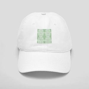 Light Green Damask Cap