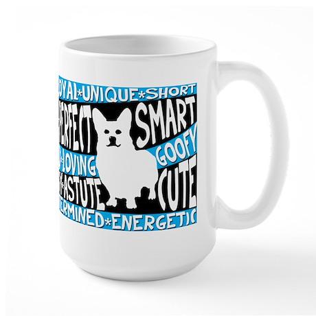 Corgi ( in words) Large Mug