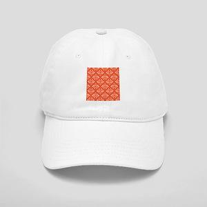 Orange Damask Cap