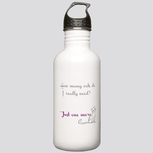Just One More Cat Stainless Water Bottle 1.0L