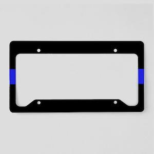 Thin Blue Line License Plate Holder