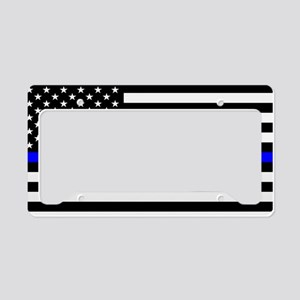 Thin Blue Line License Plate Holder