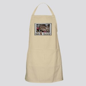 Golden Retriever Christmas BBQ Apron