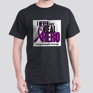 Never Knew A Hero 2 Purple (Granddaughter) T-Shirt