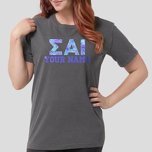 Sigma Alpha Iota Blue Womens Comfort Colors Shirt