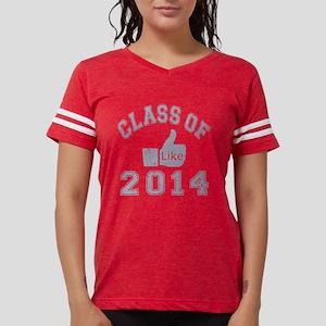 Class Of 2014 Thumbs Up Womens Football Shirt